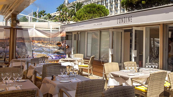Cannes City Life - L'ONDINE Plage CANNES