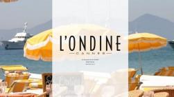 L'ONDINE Restaurant CANNES