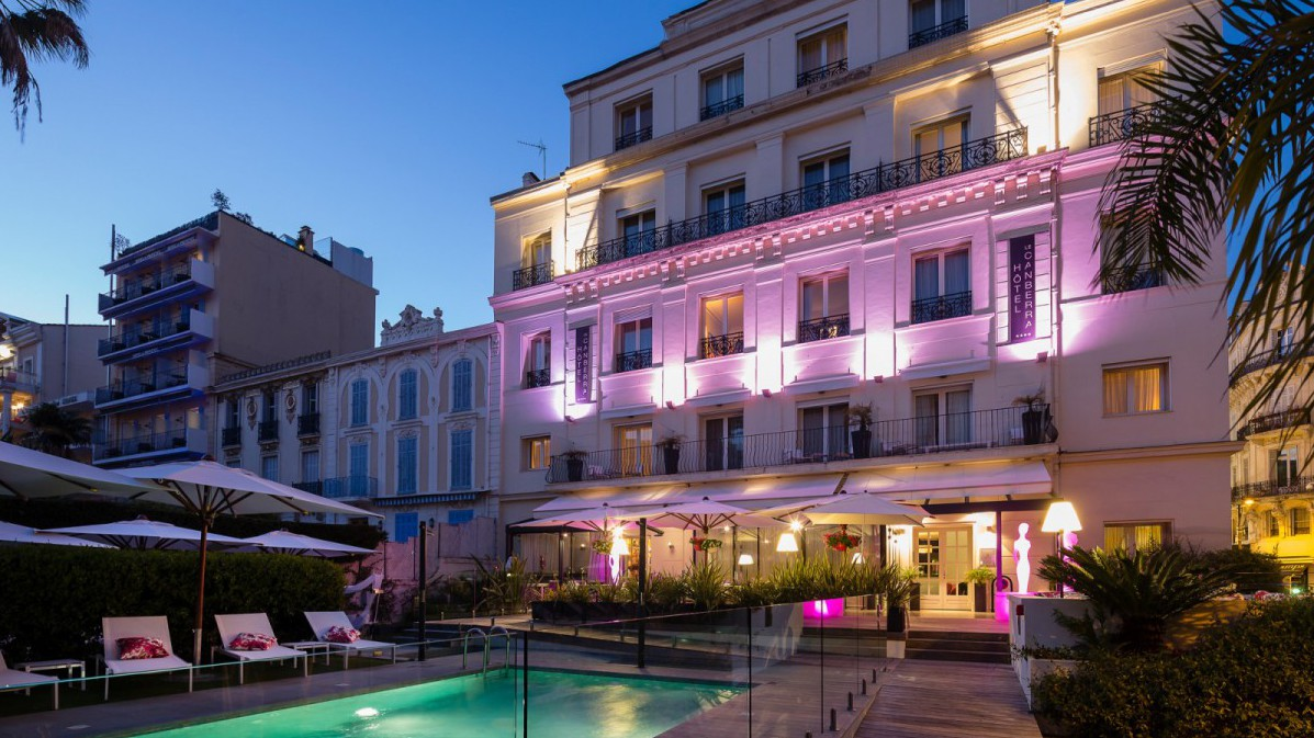 H tel canberra h tel 4 toiles cannes cannes city for Hotels 4 etoiles