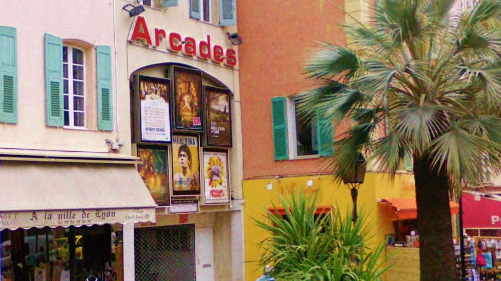 Cannes - Cinéma Les arcades
