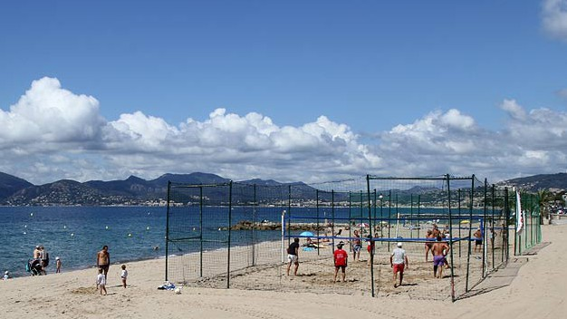 Cannes - Terrain de Beach Volley