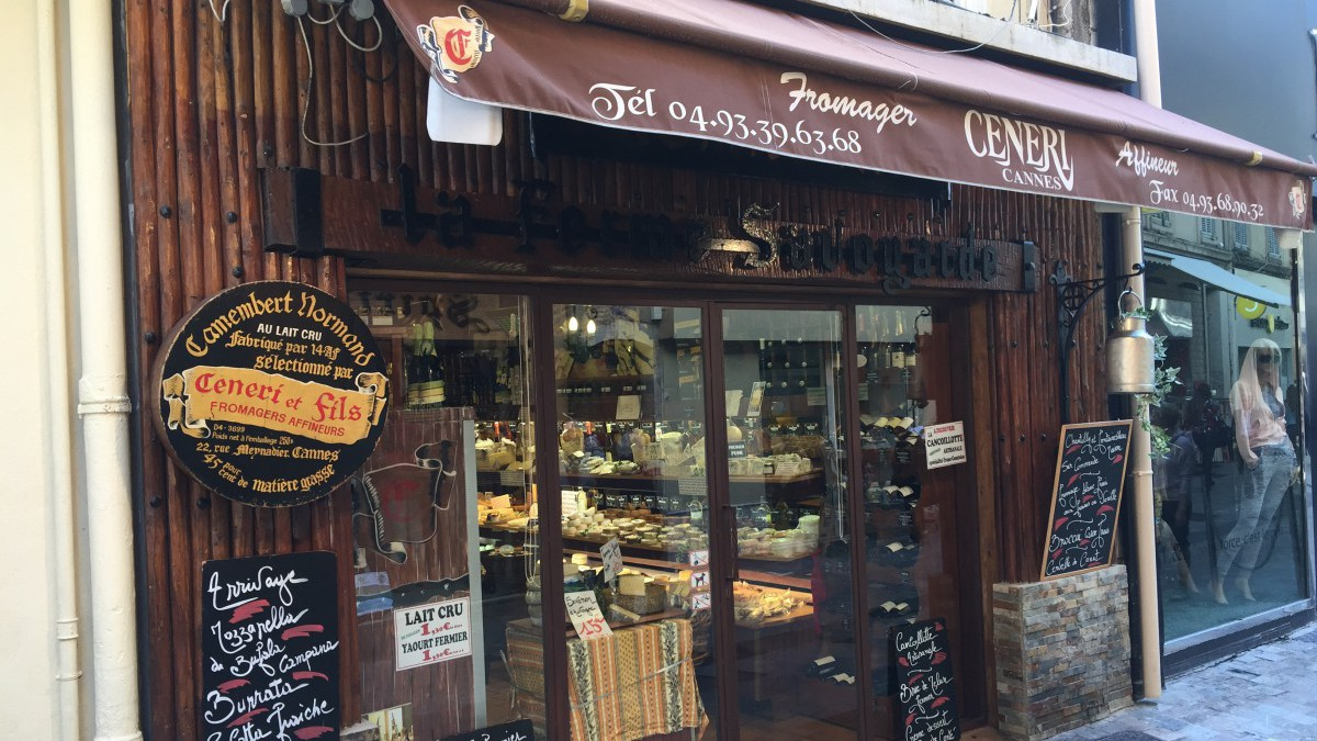 Cannes - Fromagerie Ceneri