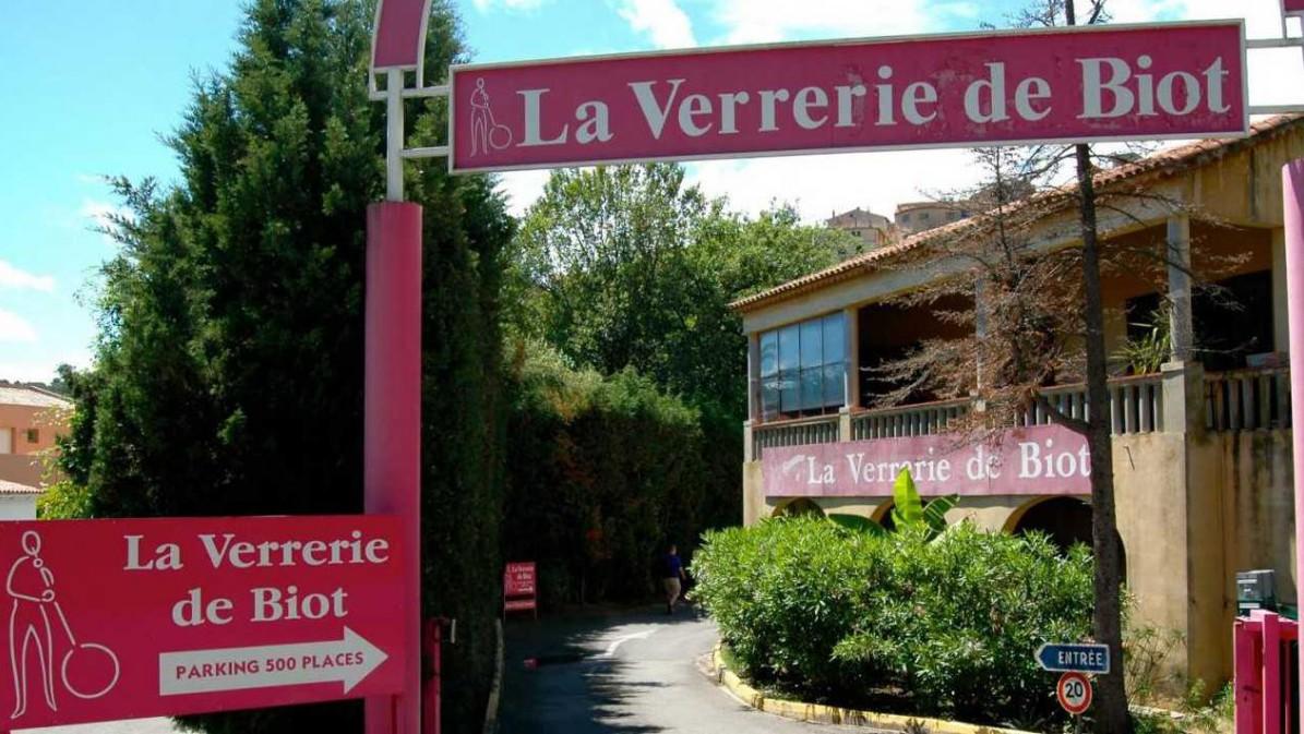 Cannes - La Verrerie de Biot