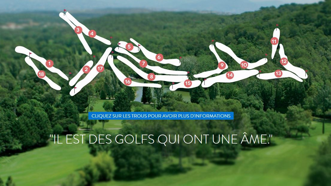 Cannes - Golf Country Club Cannes Mougins