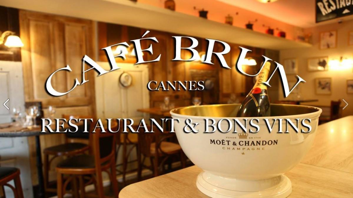 Cannes - Le Café Brun